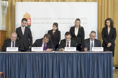 "Photo Caption: dr. Czirják György CEO Pharma-Flight, Diederik Pen Wizz Air COO, Péter Szijjártó Deputy Minister, Prof. Dr. Szilvássy Zoltán Dean University of Debrecen sign the MoU *Source: Innovata, on the basis of scheduled departing seat capacity for the year ended 31 March 2014 (""FY 2014"") Central and Eastern Europe (CEE) is a region comprised of Albania, Belarus, Bosnia and Herzegovina, Bulgaria, Croatia, the Czech Republic, Estonia, Hungary, Kosovo, Latvia, Lithuania, Macedonia, Moldova, Montenegro, Poland, Romania, Russia, Serbia, Slovakia, Slovenia and Ukraine."