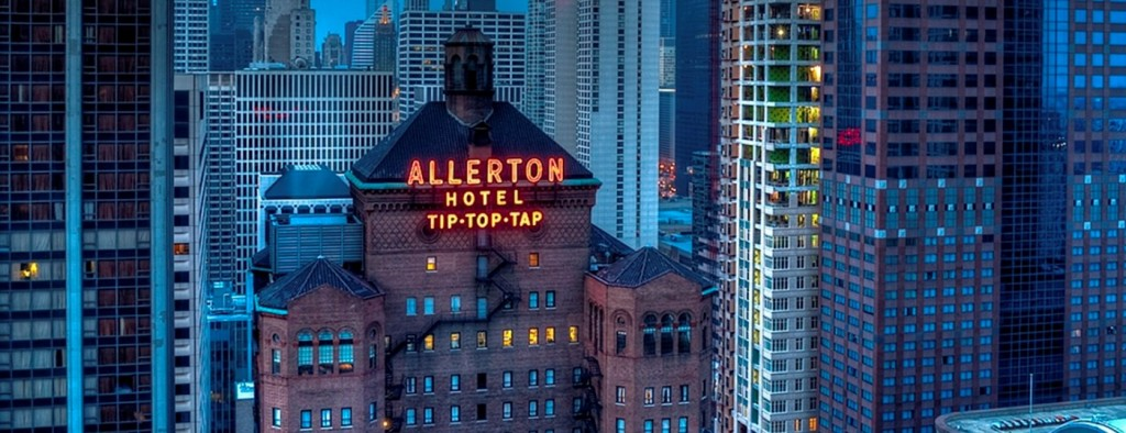 Chicago's historic Warwick Allerton Hotel starts its 90th year by opening its doors for tours to its most iconic feature, Tip Top Tap Ballroom
