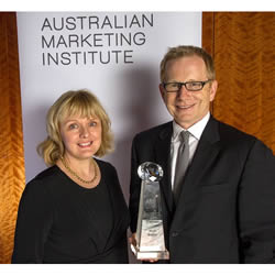 Tourism Australia's CMO Nick Baker named as Australian Marketing Institute's Marketer of the Year for 2014
