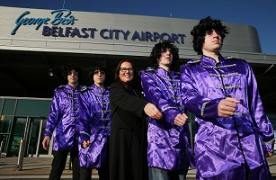 George Best Belfast City Airport: Flybe to operate new year round service from Belfast to Liverpool from 2nd February 2015