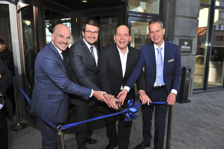 Hilton Brussels Grand Place Ribbon Cutting