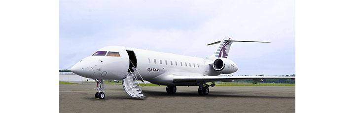 Qatar Executive's Bombardier Global 5000 Vision