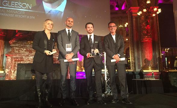 "Radisson Blu Paradise Resort & Spa Sochi GM Brian Gleeson named ""Best Hotelier"" at the MKG Worldwide Hospitality Awards 2014"
