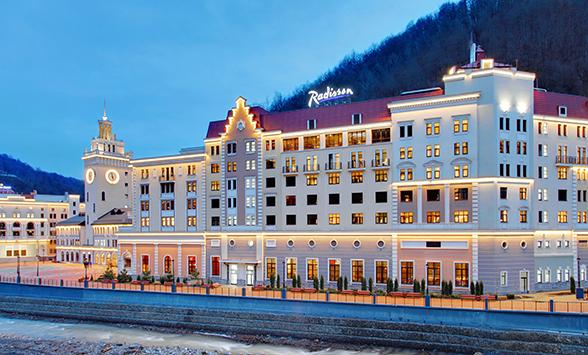 Radisson Hotel Rosa Khutor Named Russia S Best Ski 2017 At The World