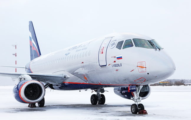 Aeroflot took delivery of its 15th full-specification Sukhoi Superjet 100 produced by JSC Sukhoi Civil Aircraft (SCA)