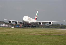 Emirates replaced Boeing 777 with Airbus A380 on its EK019/020 service between Dubai International Airport and Manchester Airport