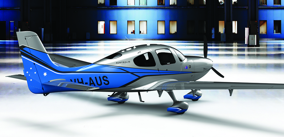 Cirrus Aircraft announced the 2015 Generation 5 SR22 Special Edition: Australis