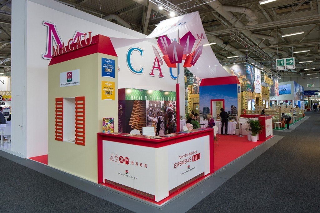 Macau Government Tourist Office presented Macau's tourism products and diverse tourism image at ITB Berlin