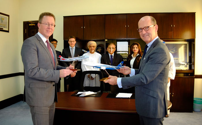 Oman Air signed agreement with Cargolux Airlines International S.A. to enable the freight specialist to use Oman Air's facilities in Muscat, Salalah and Sohar
