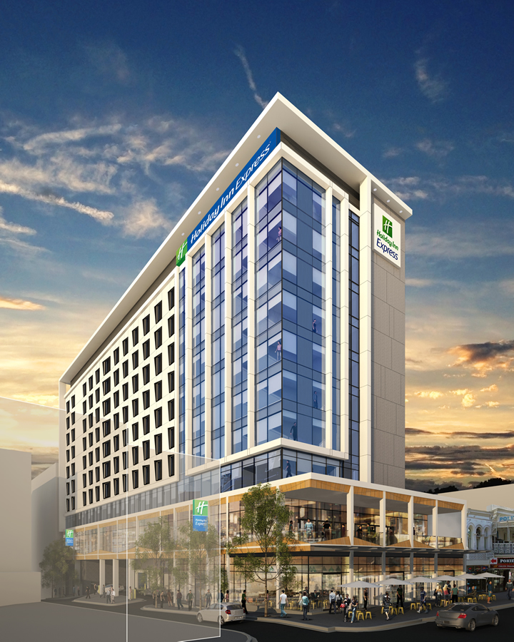 IHG and Pro Invest Group signed franchise agreement for 245-room Holiday Inn Express hotel in Adelaide's Central Business District
