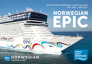 Norwegian Cruise Line's largest ship Norwegian Epic to begin another season of 7-night Western Mediterranean cruises until November 22, 2015