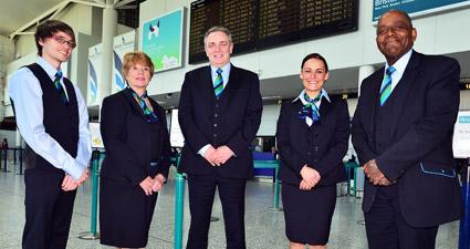 travel pr news bristol airport introduces new uniform