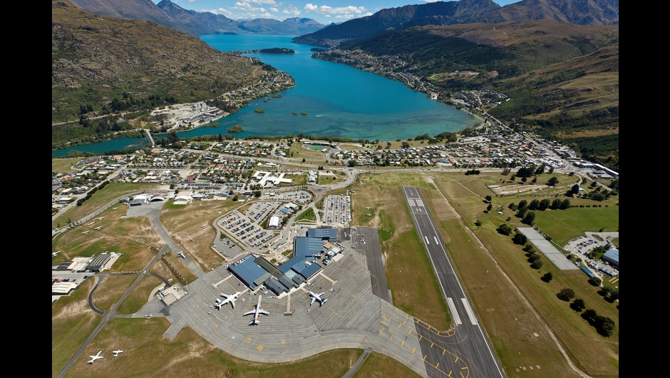 Queenstown Airport serves as a direct gateway to some of New Zealand's most renowned scenery and visitor experiences. Credit: Queenstown Airport