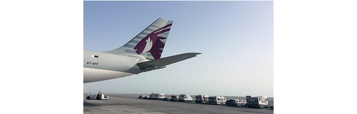 Qatar Airways Cargo is flying crucial aid to Nepal to support the people of Kathmandu including medicine, food and generators