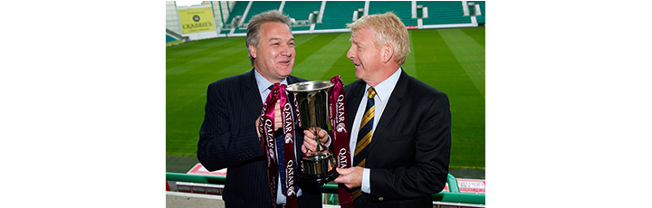 Qatar Airways announces that Scotland and Qatar will compete for the Qatar Airways Cup at Easter Road Stadium in Edinburgh on 5th June 2015
