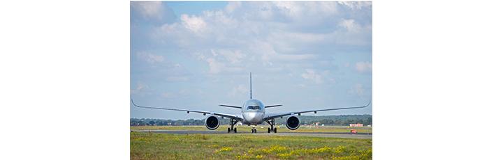 The Qatar Airways A350 XWB