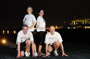 The inaugural Grant Thornton Runway Run touches down at Belfast City Airport on 24 June
