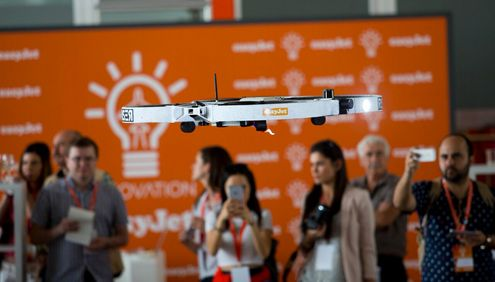 easyJet successfully completes automated drone inspection of one of its aircraft with aim of eliminating technical delays and making travel easier for passengers