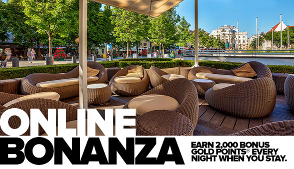 Club Carlson launches Online Bonanza promotion; offers members the opportunity to earn 2,000 bonus Gold Points® per night
