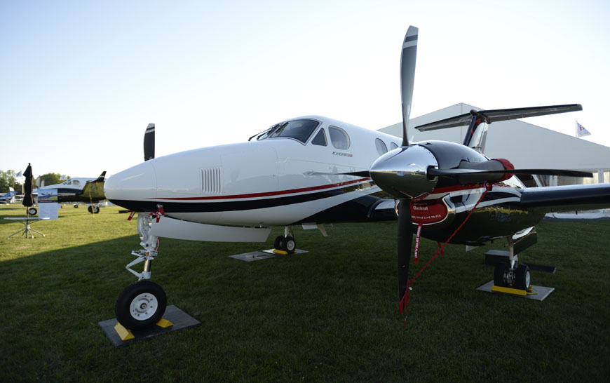 Textron Aviation: Beechcraft King Air 250 turboprop receives type certification from the Federal Aviation Administration