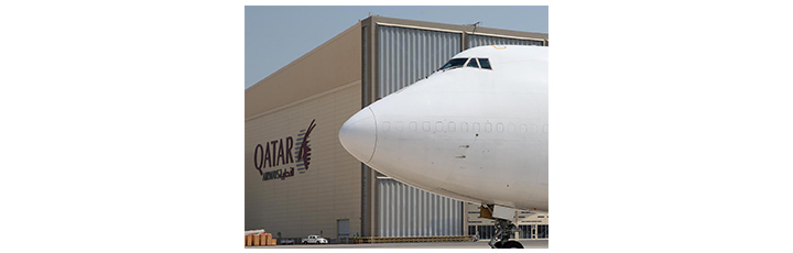 Qatar Airways Cargo's first B747 freighter has joined the carrier's expanding fleet having completed its first flight from Doha to Hong Kong