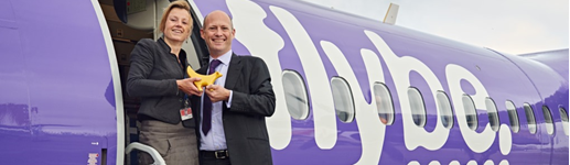 Flybe starts new service to Amsterdam Schiphol Airport from Liverpool John Lennon Airport (LJLA)