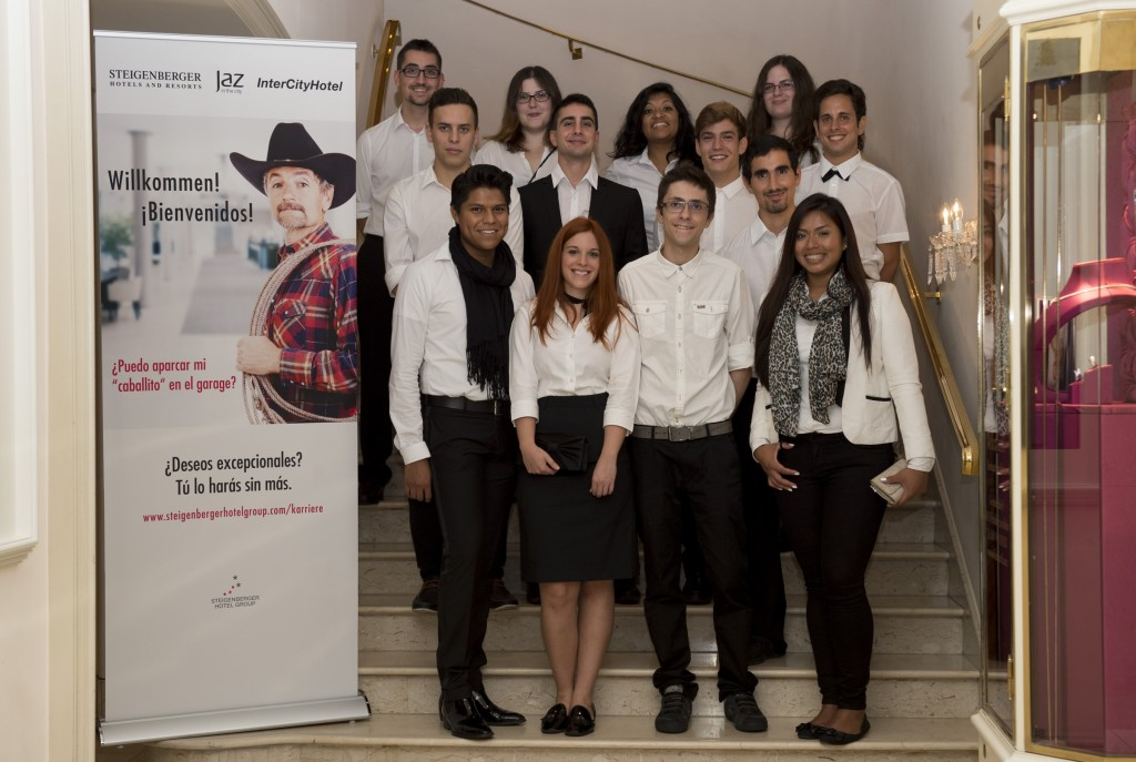 Steigenberger partner with the Federal Government and not-for-profit Arbeit und Leben e.V. to offer 15 young people from Barcelona a chance to train in its hotels
