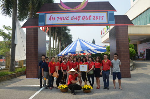 First prize for Vietjet in The rural cuisine competition in Hanoi