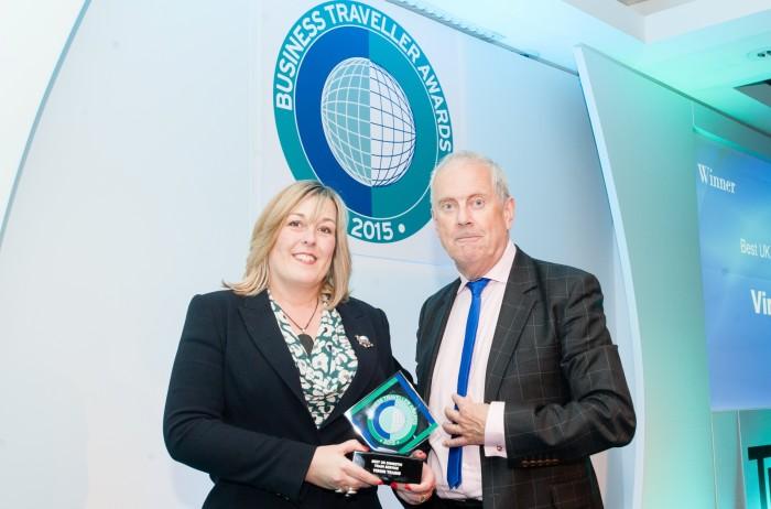 Virgin Trains voted Best UK Domestic Train Service at Business Traveller Awards 2015