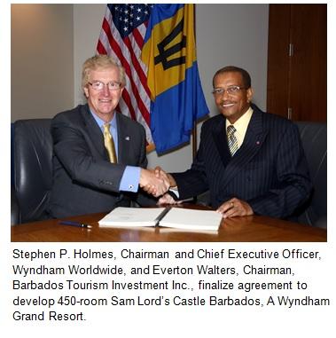 Wyndham Hotel Group announces 450-room Sam Lord's Castle Barbados, A Wyndham Grand Resort