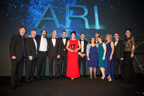 Aer Rianta International named best large company for The Loop at Dublin Airport at the 2015 Retail Excellence Ireland Awards