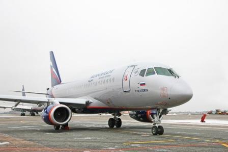 Aeroflot adds new Sukhoi Superjet 100 to its fleet