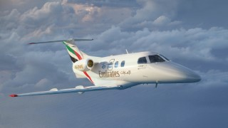 Embraer: Emirates Flight Training Academy orders five plus options for five more Phenom 100E business jets