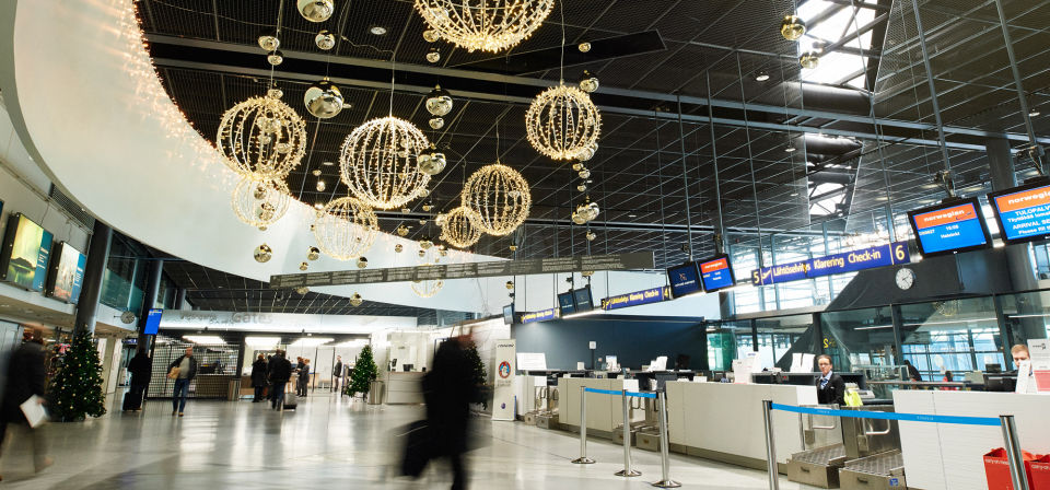 Finavia raised the passenger experience at Rovaniemi Airport to a whole new level