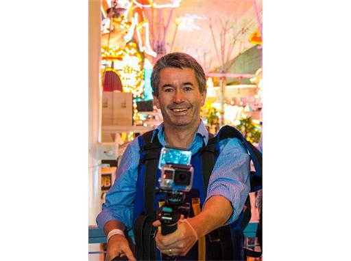 Global internet sensation Joseph Griffin returns to Las Vegas to properly capture the sights and sounds of the iconic Las Vegas Strip