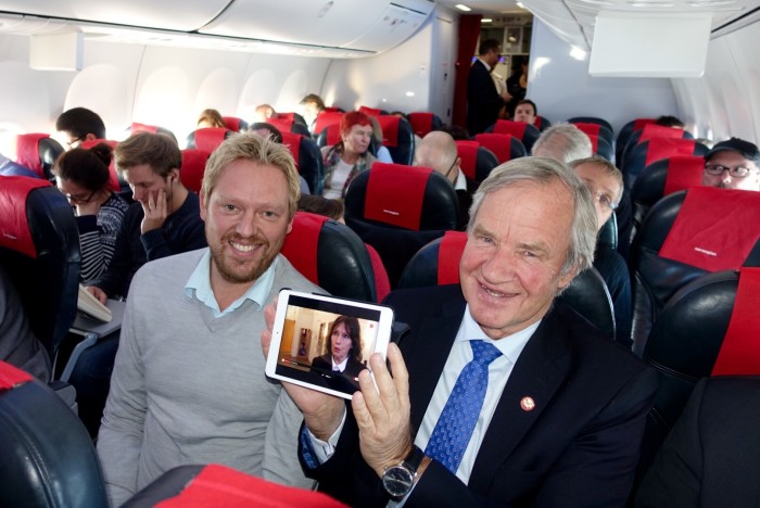 Low-cost airline Norwegian first airline to offer live TV on board European flights