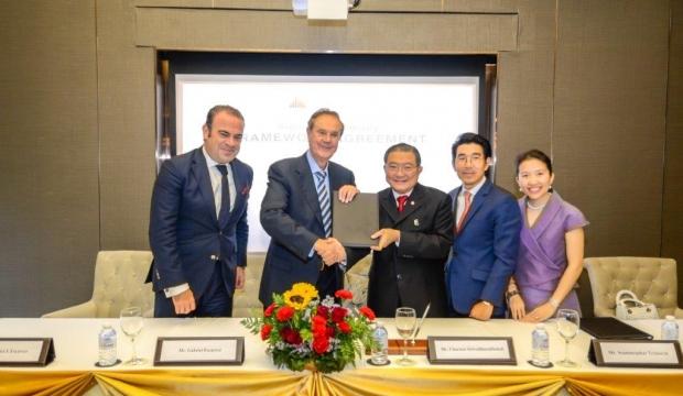 Tailandia: Meliá Hotels International firma un acuerdo estratégico con TCC Land Asset World