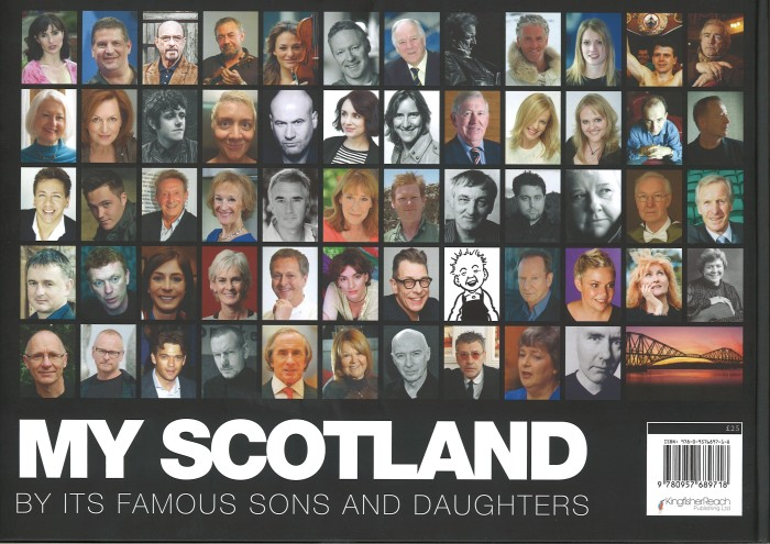VisitScotland celebrates Scotland with the release of book My Scotland by its Famous Sons and Daughters