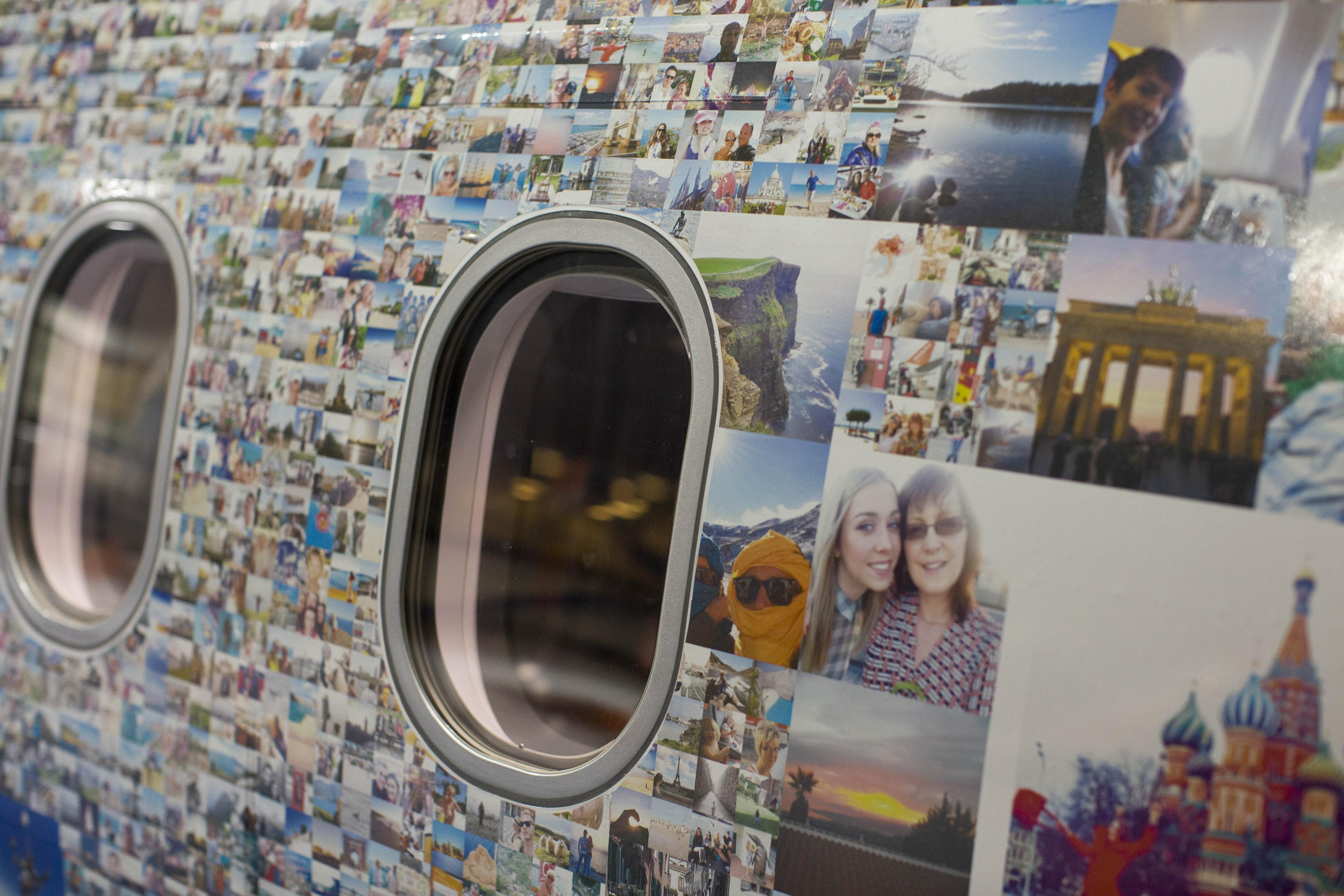 easyjet marks its 20th anniversary with special livery aircraft displaying more than 100,000 of its customers' holiday pictures
