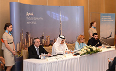 flydubai today marked the launch of flights to Astana