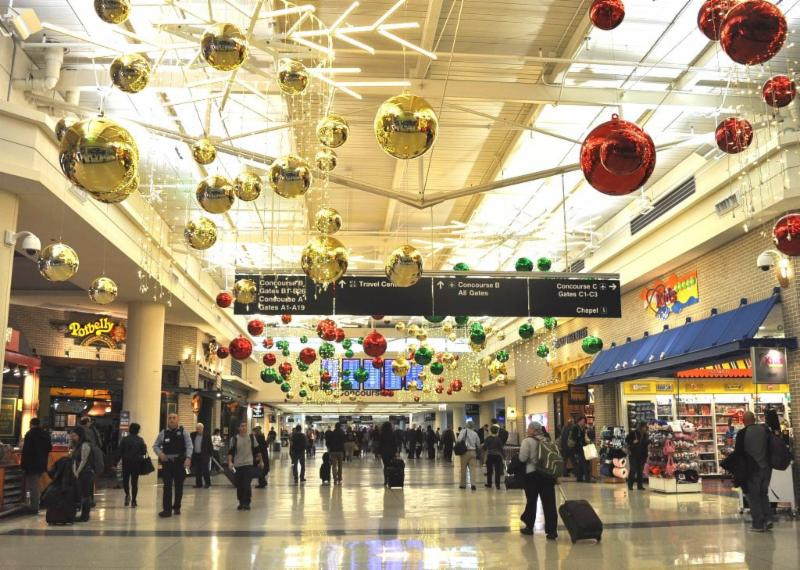 CDA will host delightful surprises and holiday spirit throughout December at O'Hare and Midway International Airports