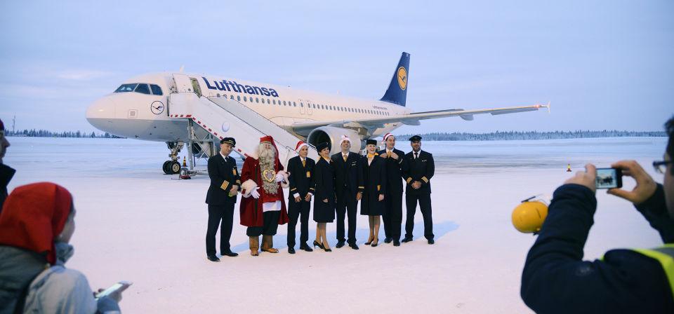 Finavia: Lufthansa launches new flights from Munich to Kittilä Airport
