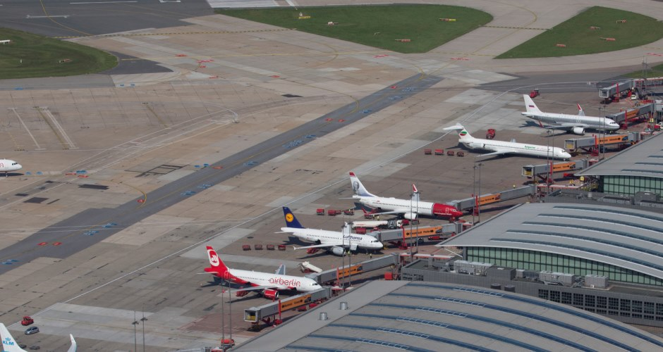 Hamburg Airport to renew its main apron; construction work planned for the period 2016–2020