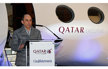 Qatar Executive welcomes its first Gulfstream G650ER to its Expanding Fleet