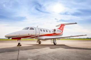 Wanfeng Aviation Co., Ltd. takes delivery of China's first Phenom 100E from Embraer Executive Jets