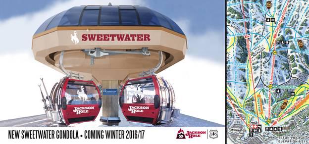 Jackson Hole Mountain Resort announces new gondola for 2016/2017 season