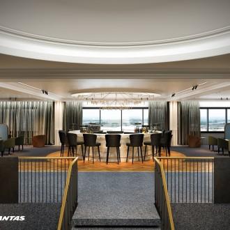 Introducing Qantas' new premium lounge at London Heathrow. Opening early 2017.