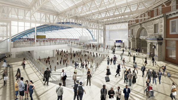 £800million worth of investment programme launched at Britain's busiest railway station London Waterloo