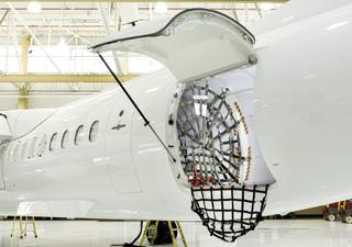RAC Q400 Cargo-Combi Aircraft