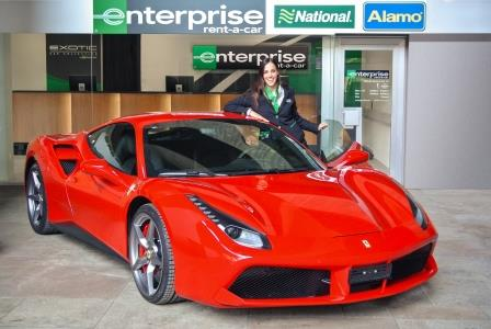 Travel Pr News Enterprise Rent A Car Launches Its New Exotic Car